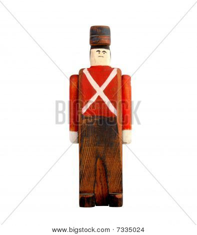Toy Wooden Soldier