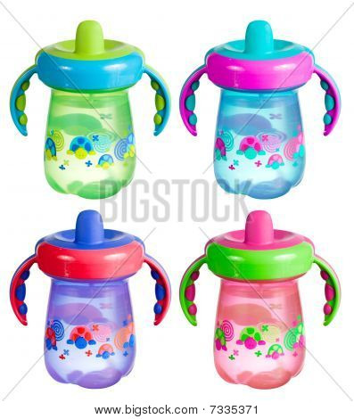 Sippy Cup Isolated Set
