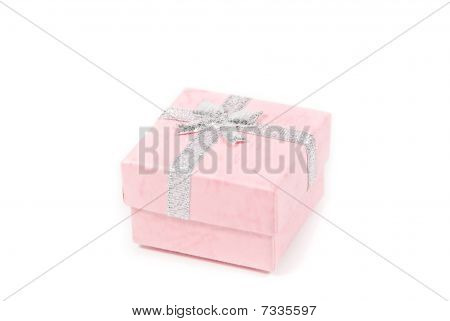 Small Pink Present Box