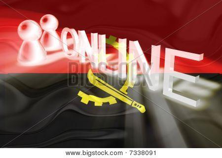 Flag Ofangola Wavy Online