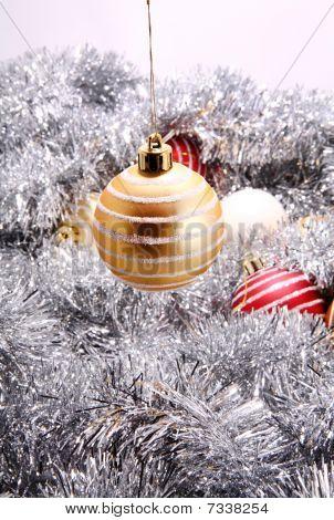 Yellow Christmas Decoration