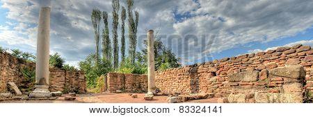 Ancient Roman Cardo street Trst via Ignacia