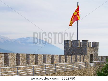 Fort in Ohrid, Macedonia