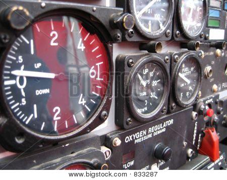 snowbird airplane gauges