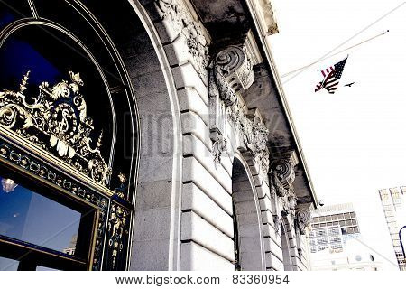 Civic Center- City Hall of San Francisco, CA