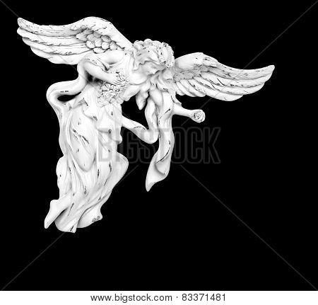White Flying Angel