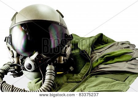 Military Pilot Flight Suit