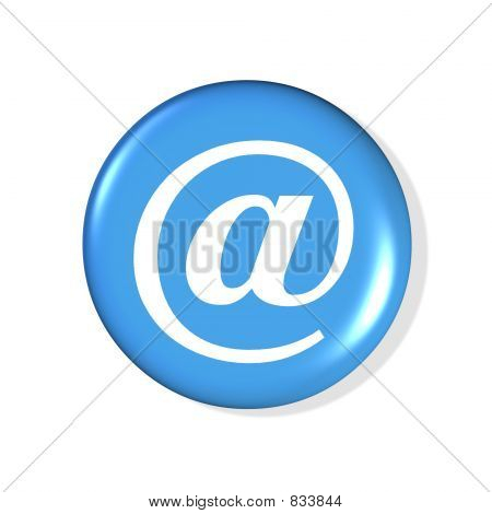blue email button