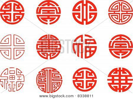 circular oriental element