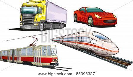 Land transportations