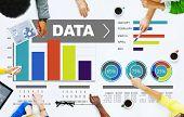 Data Analytics Chart Performance Pattern Statistics Information Concept poster
