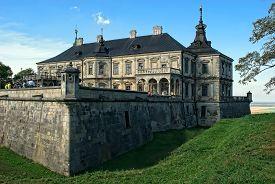 Old Pidhirtsi Castle, Near Lviv, Ukraine.