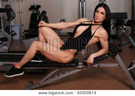 Silver Medalist Of World Ladies Cup Training In Gym