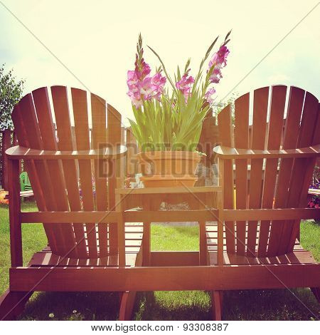 Instagram Of Deck Chairs In The Summer Sunlight