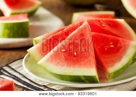 Organic Ripe Seedless Watermelon