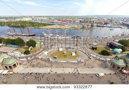 Tall Ships Regatta 2015 Final In Szczecin.