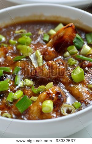 Cauliflower or Gobi manchurian