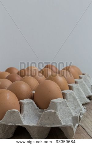 Absent Concept : An Egg Disappears From The Group Of Eggs.