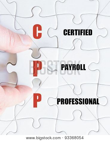 Last Puzzle Piece With Business Acronym Cpp