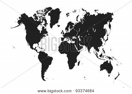 The World Map.
