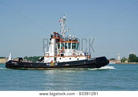 Tug Boat, Venice