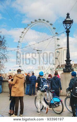 The London Eye Ferris Wheel