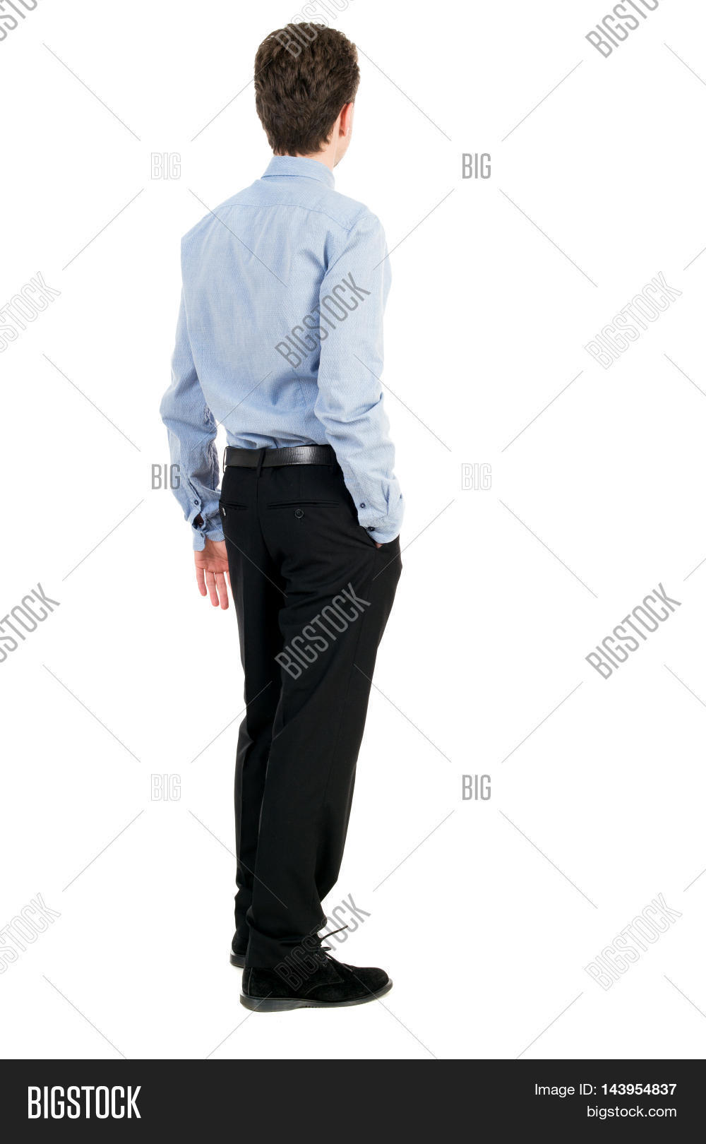 back view business man image photo free trial bigstock