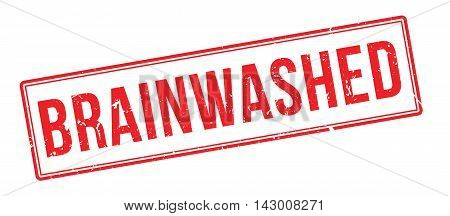 Brainwashed Rubber Stamp