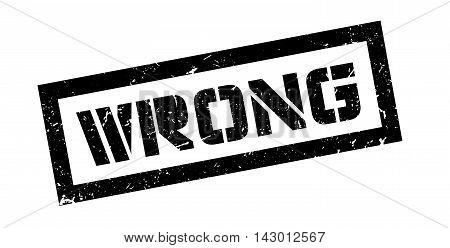 Wrong Rubber Stamp