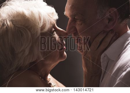 Older Couple Love Romance