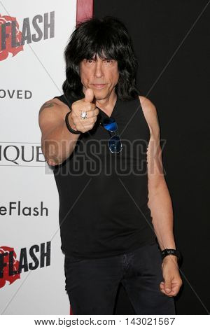 NEW YORK-AUG 3: Musician Marky Ramone attends the 'Ricki And The Flash' New York premiere at AMC Lincoln Square Theater on August 3, 2015 in New York City.