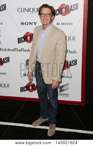 NEW YORK-AUG 3: Actor Kyle MacLachlan attends the 'Ricki And The Flash' New York premiere at AMC Lincoln Square Theater on August 3, 2015 in New York City.