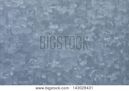Blue Galvanized Steel Sheet