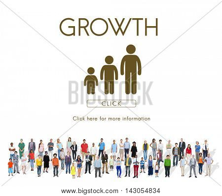 Growth Family Generations Relationship Concept