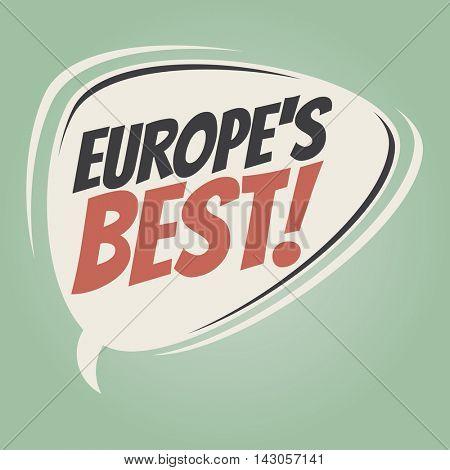 europe's best retro cartoon balloon