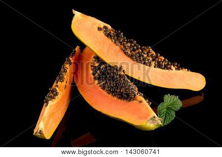 Fresh And Tasty Papaya