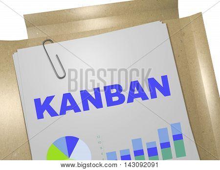 Kanban Business Concept