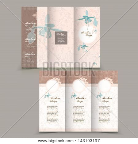 Graceful Tri-fold Brochure Design