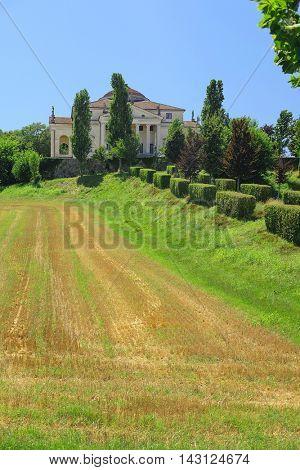 villa Rotonda in Vicenza, Italy
