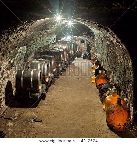 wine cellar Vrba Winery Vrbovec Czech Republic poster