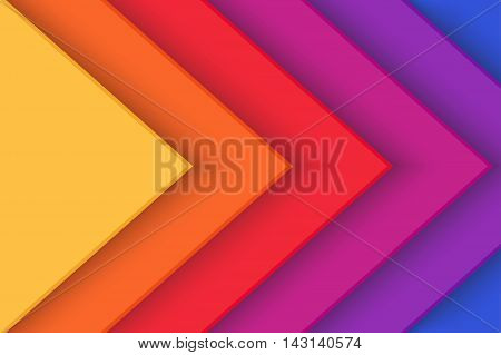 Abstract creative background with layers. Vector illustration.