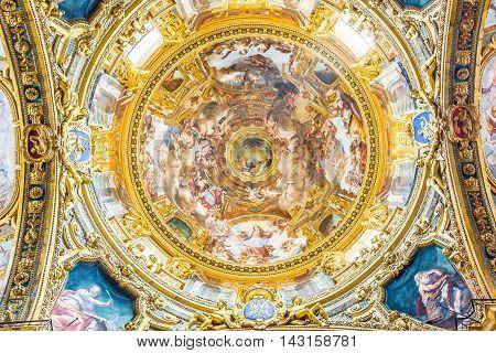 Basilica Della Santissima Annunziata Del Vastato Of Genova. Italy.