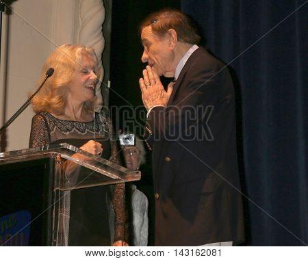 LOS ANGELES - AUG 15:  Hayley Mills, Richard Sherman at the