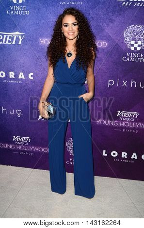 LOS ANGELES - AUG 16:  Madison Pettis at the Variety Power of Young Hollywood Event at the Neuehouse on August 16, 2016 in Los Angeles, CA