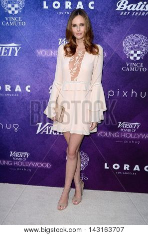 LOS ANGELES - AUG 16:  Alyssa Campanella at the Variety Power of Young Hollywood Event at the Neuehouse on August 16, 2016 in Los Angeles, CA