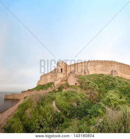 Ancient Akkerman fortress at Belgorod-Dnestrovsky near Odessa Ukraine