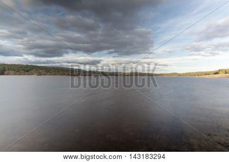 Cuerda del pozo lake  in Soria, Castilla leon, Spain
