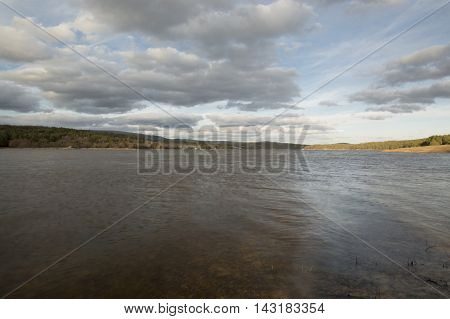 Well rope reservoir in Soria in Soria, Castilla leon, Spain