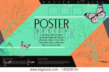 Attractive Poster Template Design