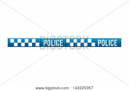 tape dont police cross security warning precaution restricted safety vector illustration